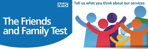 Friends and Family Test: tell us what you think of our services